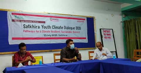 Young people want to participate in building a climate resilient Satkhira